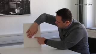 GIRA SCHUKO-Steckdose mit LED-Orientierungsleuchte
