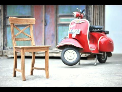 teak stoel mariotto | teak stuhl berlin