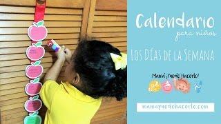 Calendario Los Días de la Semana