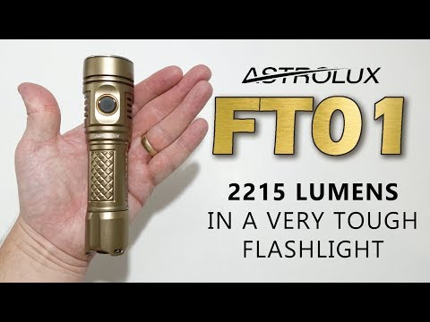 Review of the Astrolux FT01 - Very very tough tactical light!