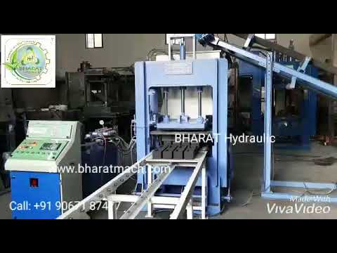 8cvt. Automatic Vibro with Pressure Fly Ash Brick & Block Making Machine Plant