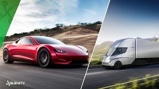 Tesla Semi y Roadster