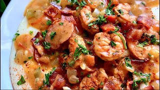 Southern Shrimp and Grits  How to make Shrimp and Grits