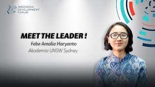 IDF Meet The Leader Febe Amalia Akademisi UNSW Sydney