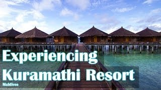 preview picture of video 'Experiencing Kuramathi Resort in the Maldives'