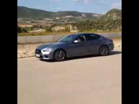 Infiniti Q50 V6 Hybrid quick soundcheck / exhaust