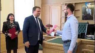 Андрей Никитин встретился с победителями и полуфиналистами конкурса «Лидеры России»