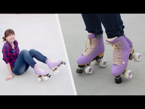 Chaya Quad Roller Skates / Artistic Skating / First Time Ever