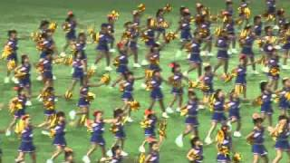 読売巨人軍東京ドーム試合前キッズチア07/29/2010