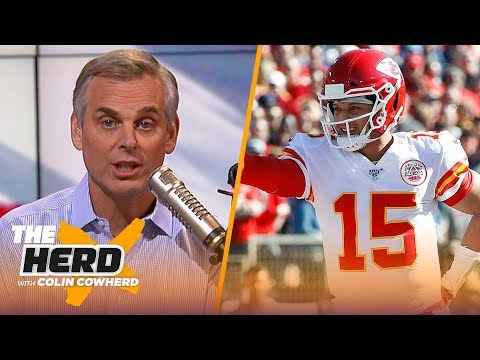 Colin Cowherd plays the 3-Word Game after NFL Week 10 | NFL | THE HERD
