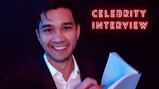 ASMR Interviewing You As A Celebrity ✨ Roleplay  | Personal Attention | Male Whispers/Soft Spoken