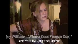 Joy Williams: What A Good Woman Does (COVER)