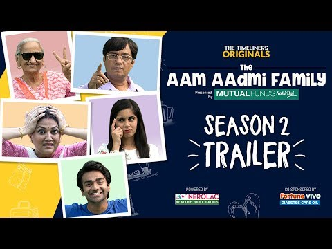 The Aam Aadmi family season 2 trailer