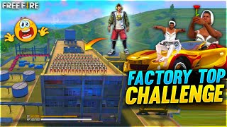 AS Gaming Factory Top Challenge With Dj Adams Free Fire Funny Custom Room - Garena Free Fire