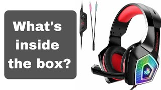 HunterSpider V1 Gaming Headset! $ 25 from Amazon!  [What's inside the box?]