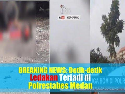 BREAKING NEWS: Detik-detik Ledakan Terjadi di Polrestabes Medan, Ada Korban Jiwa
