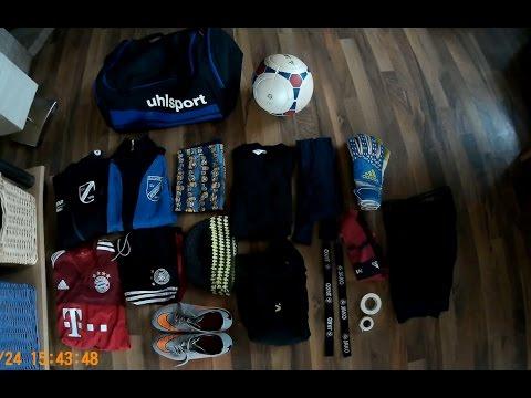 What's in my winter goalkeeper bag