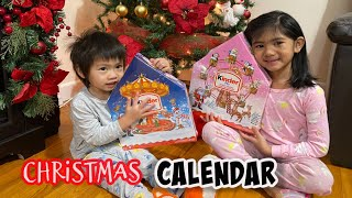 Sophia Opening Christmas Advent Calendar Kinder Surprise for Kids