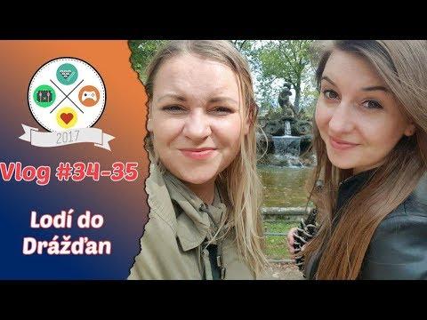 Vlog #34 - 35: Lodí do Drážďan