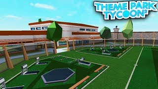 JAILBREAK PARK in Theme Park Tycoon 2! - Roblox