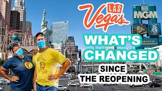 LAS VEGAS Reopening | WHAT'S CHANGED? Restaurants, Buffets, Casinos, Pools, Bars.....!