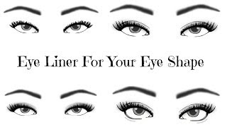 Eyeliner For YOUR Eye Shape   TheMakeupChair