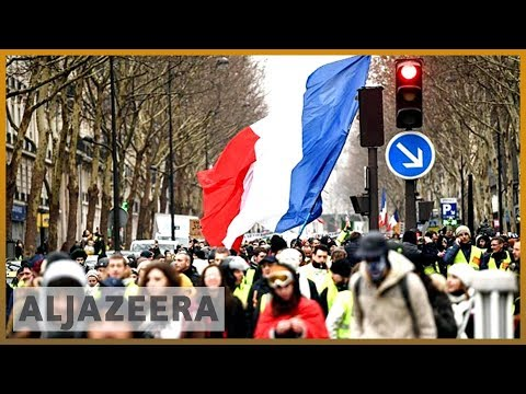 🇫🇷 France: 'Yellow vests' protest despite Macron's grand debate | Al Jazeera English