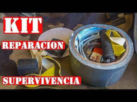 Kit Casero De Reparación Y Mantenimiento Para Supervivencia