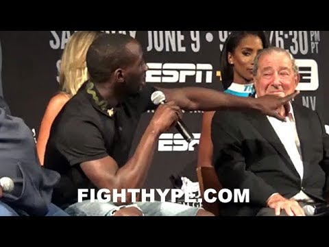 "TERENCE CRAWFORD GIVES SAVAGE WARNING TO JEFF HORN AND CHECKS PROMOTER: ""ROCKED AND DROPPED"""