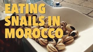 preview picture of video 'MOROCCO TRAVEL: Eating snails in Fes'