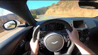 [WR Magazine] 2020 Aston Martin Vantage - POV Test Drive (Binaural Audio)