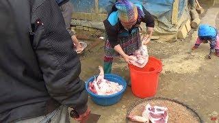 DTVN - Cận cảnh MỔ LỢN TẾT của dân tộc Hmong trên vùng cao 2018