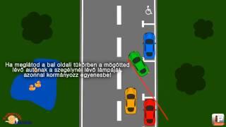 Hogyan Parkoljunk Jobbra Hátra 50 Másodperc Alatt?