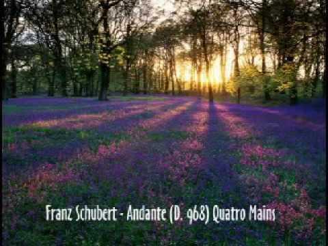 Franz Schubert - Andante (D. 968) Quatre Mains