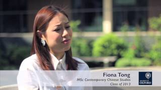 preview picture of video 'Oxford Sino Alliance - Masters in Contemporary Chinese Studies at Oxford | Alumni Network'