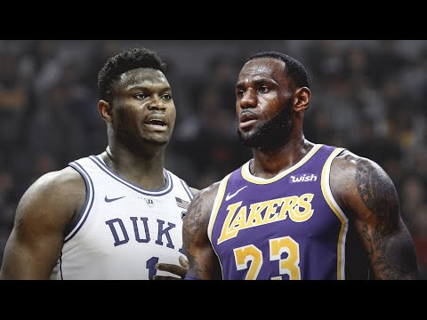 Zion Williamson Will Have To DEFEAT The PHANTOM Of LeBron James!