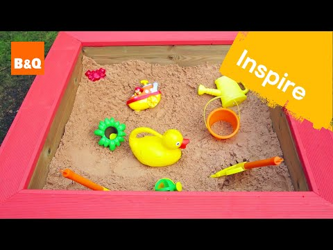 Build a sandpit from decking