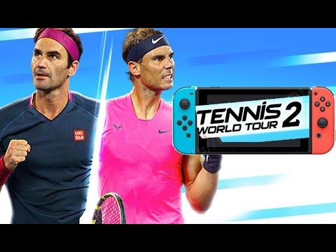 Tennis World Tour 2 sur SWITCH   Le TEST