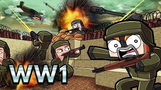 World War 1 MAP WARS! (Minecraft)