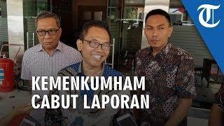 Pencabutan Laporan Kemenkumham di Polres Metro Tangerang Kota