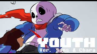 【Undertale】Youth ver. Sans & Chara (Lyric Comic)