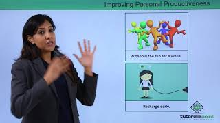Soft Skills - Improving Personal Productivity