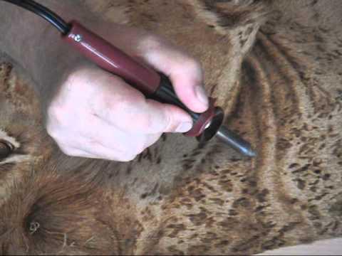 Pyrography Tips for Woodburners Video 2 - смотреть онлайн на