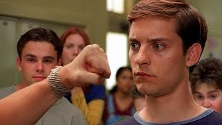 Peter Parker Vs Flash  School Fight Scene  SpiderMan 2002 Movie CLIP HD