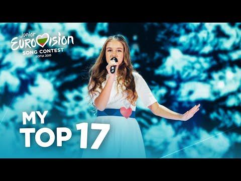 Junior Eurovision 2015 - Top 17