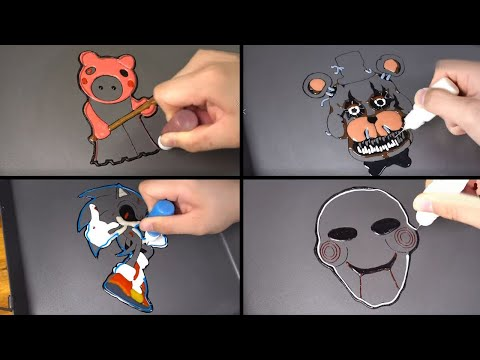 Download COFFIN DANCE HORROR JUMPSCARES PANCAKE ART - ROBLOX PIGGY, SONIC EXE, SAW, Five Nights at Freddy's Mp4 HD Video and MP3