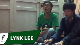 [LIVE] Love the way you lie + Just a dream - Lynk Lee ft Dương Bin