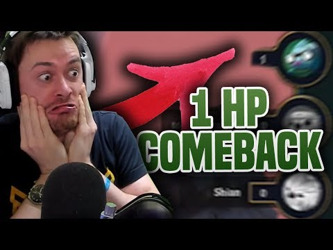 1 HP Comeback?! - TFT Ranked