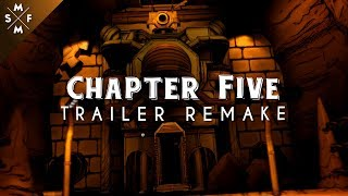 [SFM Bendy] Bendy and the Ink Machine Chapter FIVE Reveal Trailer Remake