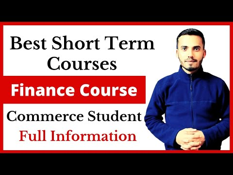 Top Best Short Term Courses for Finance and Accounting || Best ...